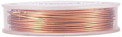 BENECREAT 10m Alambre de Cobre Cable Metálico Accesorios de manualidad para Diseño de Bisutería - Color de Cobre Calibre 20
