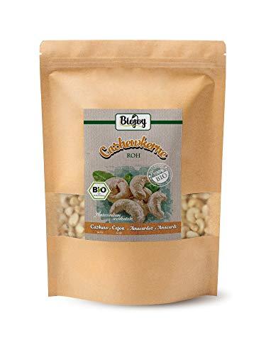 Biojoy Anacardos crudos naturales BÍO, sin sal, Anacardium occidentale (1 kg)