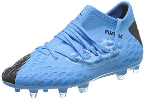 PUMA Future 5.3 Netfit FG/AG JR, Botas de fútbol Unisex niños, Azul (Luminous Blue/Nrgy Blue Black/Pink Alert), 34 EU
