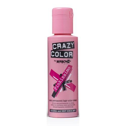 Renbow Crazy Color, Coloración Semipermanente (color Pinkissimo, nº 42)