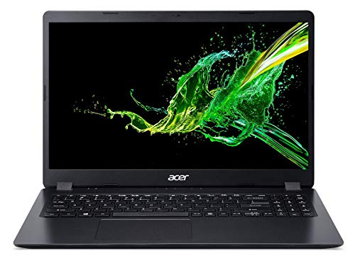 Acer Aspire 3 - Ordenador portátil 15.6' FullHD (Intel Core i5-6300U, 8GB RAM, 512GB SSD, UMA, Windows 10 Home) Negro - Teclado QWERTY Español
