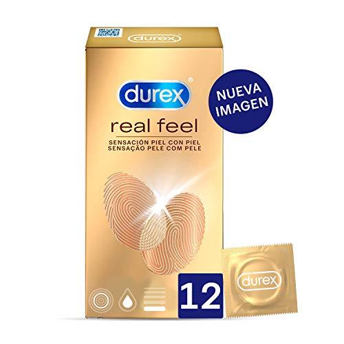 Durex Preservativos Sensitivos Real Feel - 12 condones