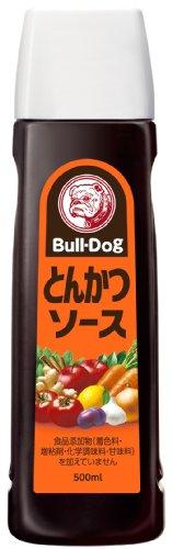 Bull-Dog Vegetal y salsa de frutas salsa tonkatsu (500 ml)