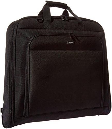 AmazonBasics - Portatrajes de calidad prémium, Negro - 1 m