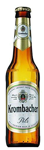 Krombacher - Cerveza Rubia Alemana, Botella 33 cl