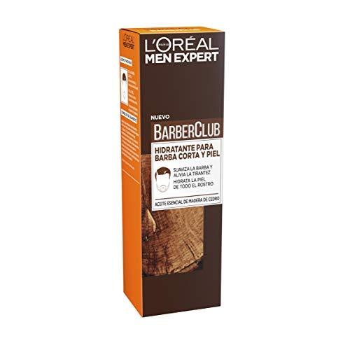L'Oréal Paris Men Expert Barber Club - Crema Hidratante para Barba Corta y Piel - 50 ml