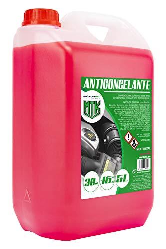 Motorkit MOT3539 Anticongelante, 5L, 30 %, Rosa