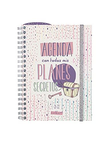 Finocam Agenda 2021 2022 Semana vista apaisada Septiembre 2021, Agosto 2022 12 meses 8º, 120x169 Talkual Planes Español