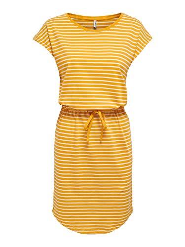 Only Onlmay Life S/s Dress Noos Vestido Casual, Mango Mojito, M para Mujer