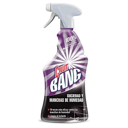 Cillit Bang - Spray Limpiador Suciedad y Manchas de Humedad, para baños y juntas negras - 750 ml