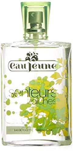 Eau Jeune Senteurs Fraiches Agua de colonia para mujer, verde, 75 ml