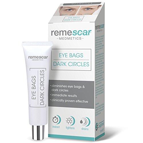 Remescar - Remescar Bolsas y ojeras - Crema para las bolsas de los ojos - Corrector de ojeras - Elimina las bolsas - Tratamiento para las bolsas de los ojos al instante para hombre y mujer