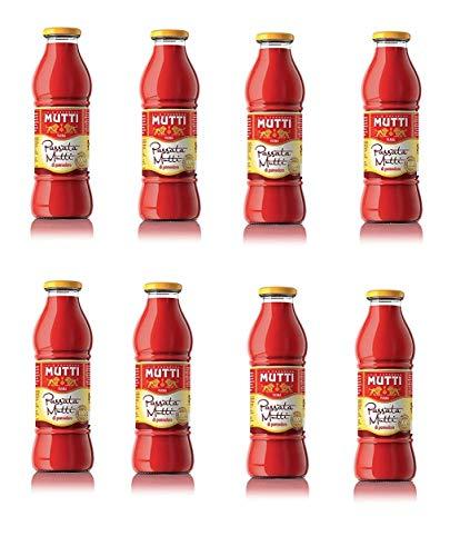 8x Mutti Passata di Pomodoro Tomato Sauce for Pasta 700g 100% Italian!