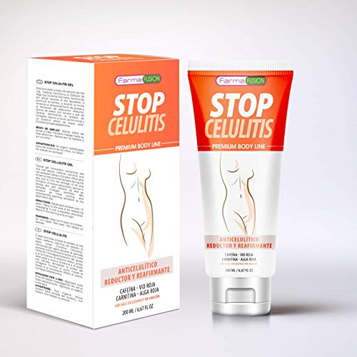 Gel Anticelulítico, Reductor y Reafirmante Intensivo   Elimina la celulitis y la piel de naranja   Reafirma, tonifica e hidrata la piel   Fórmula adelgazante   Reduce la grasa localizada   Gel 200ml