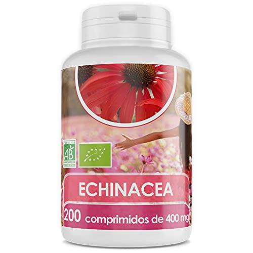 Echinacea Orgánica - Echinacea purpurea - 400 mg - 200 comprimidos