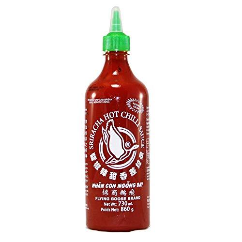 Flying Goose, Salsa de chile (Sriracha, picante) - 2 de 730 ml. (Total 1460 ml.)