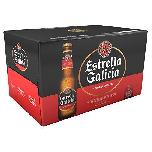 Estrella Galicia Especial Cerveza - Pack de 24 botellines x 250 ml - Total: 6 L