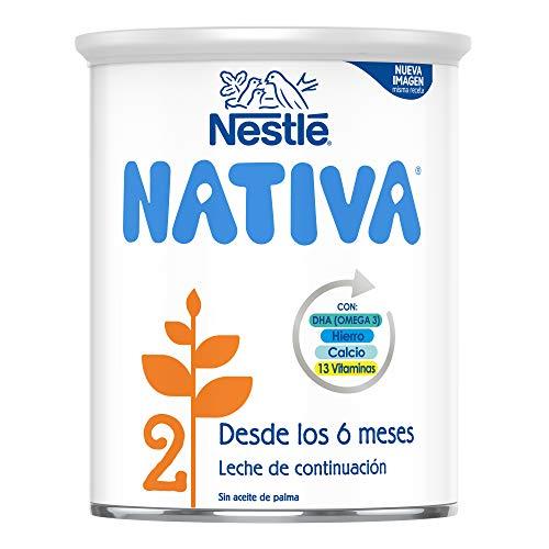 NESTLÉ NATIVA 2 – Leche de continuación en polvo – Fórmula Para bebés - A partir de los 6 meses - 800g