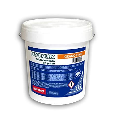 Microcemento para Suelos y Paredes - Microlux en Polvo - 5 Kg. Grano Fino