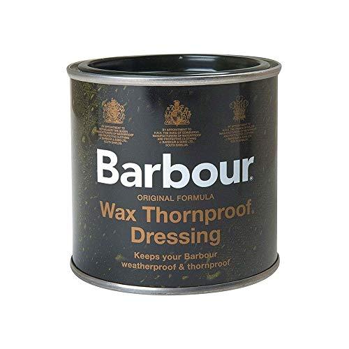 Barbour –Producto de cera impermeabilizante, lata, impermeable, protege contra espinas, para ropa, chaquetas, 200ml
