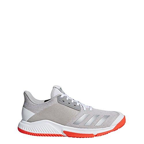 adidas Crazyflight Team, Zapatillas de Voleibol para Mujer, Blanco (Ftwbla/Plamet/Gridos 000), 48 2/3 EU