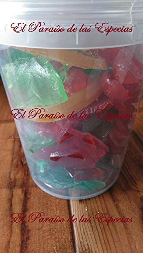 Roscón de Reyes Fruta Escarchada Decoración 1000 grs - Panettone Italiano Fruta 1 kg