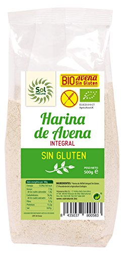 Solnatural Harina De Avena Sin Gluten Bio 500 G 400 g