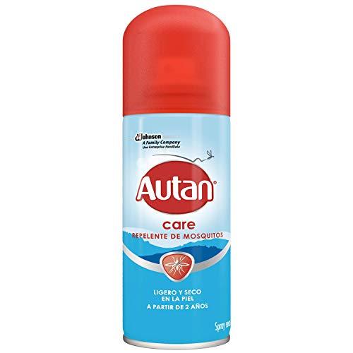 Autan Family Care Repelente - Protege de mosquitos, Spray en seco, 100ml