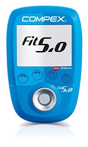 Compex Wireless Fit 5.0 Electroestimulador, Unisex, Azul