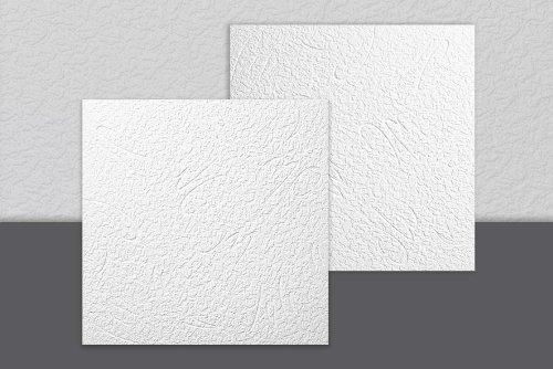 Decosa Budapest - Placa para techo (50 x 50 cm), color blanco