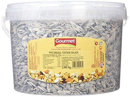 Gourmet Pipas de Girasol Tostadas y Saladas - 2.5 kg
