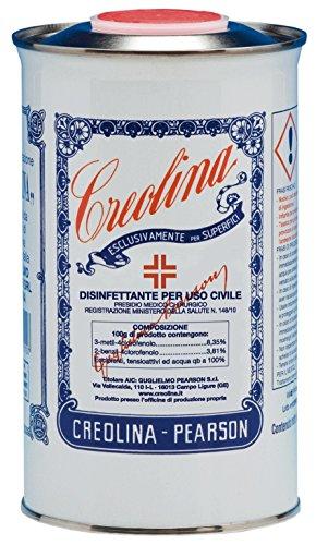 Creolina original, desinfectante; en envase de 1 l