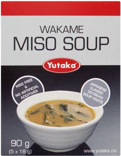 Japanese Miso Soup - 5 Sachets - 90g