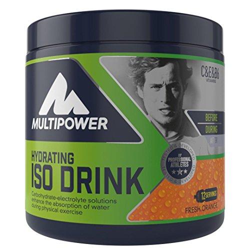 Multipower ISO Drink Suplemento Sabor Fresh Orange - 420 gr