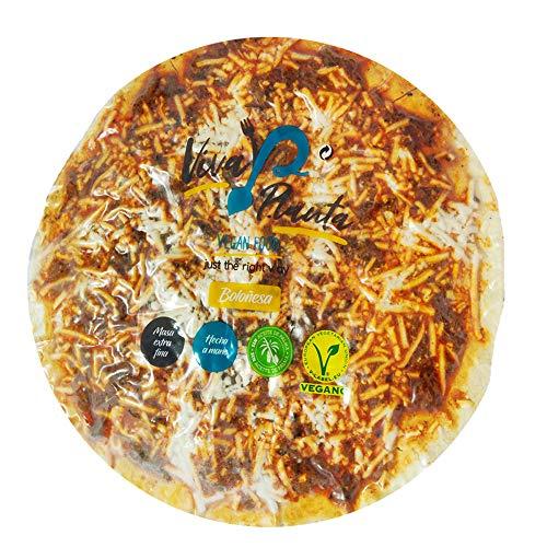 Viva Planta Pizza Boloñesa Vegana   con Sheese 100% sin lácteos queso 310g (Pack de 3)