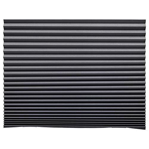 IKEA ASIA SCHOTTIS - Estor plisado, color gris oscuro
