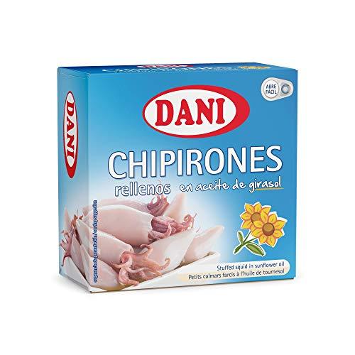 Dani - Chipirones rellenos en aceite de girasol - Pack 4 x 148 gr.