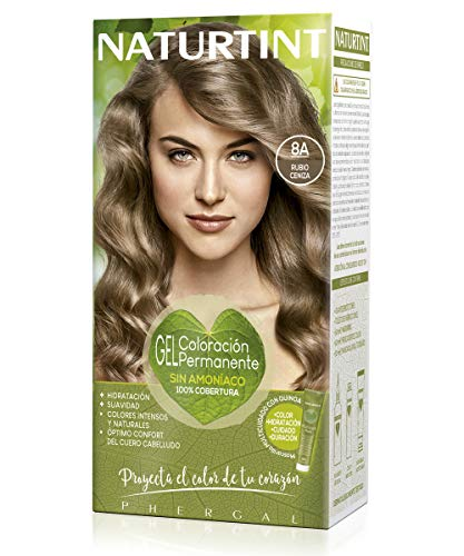 Naturtint 8A Rubio Ceniza Tinte - 60 ml