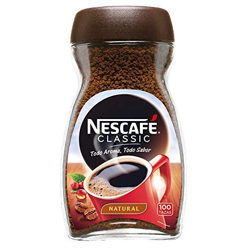 Nescafé Classic Natural - Café soluble - 2 Paquetes de 200 g