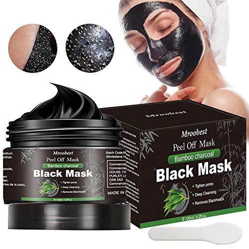 Puntos Negros Mascarilla, Blackhead Remover Mask, Mascarilla Exfoliante, Peel Off Mask, Deep Cleansing Mascarilla Exfoliante Limpiadora contra Puntos Negros y Acné - 120ML