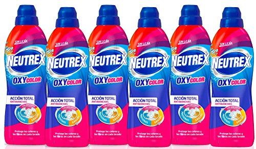 Neutrex Oxy Color Quitamanchas sin Lejía, Producto para el Hogar - Pack de 6, 800ml