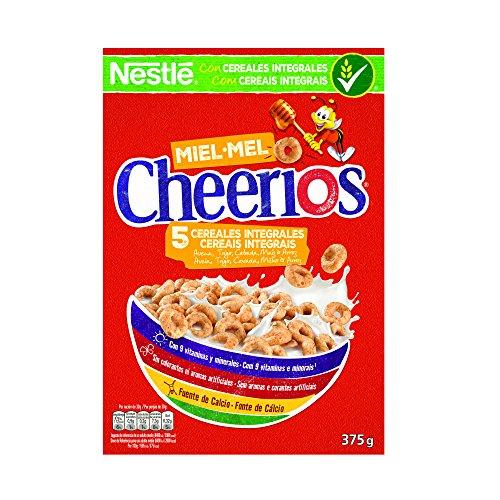 Cheerios Anillos de cereales con avena integral tostados y miel - 375 gr