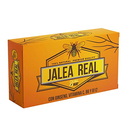 Jalea Real   Ginseng Rojo   Vitamina C   Vitaminas B6 y B12   Aporta Energía y Vitalidad   Aporta Energía y Vitalidad   Refuerza tus defensas (20 AMPOLLAS)