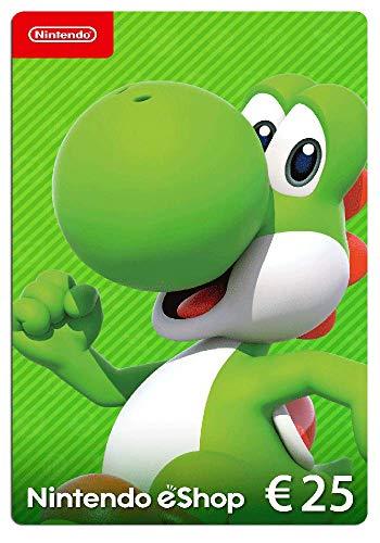 Nintendo eShop Tarjeta de regalo 25€   Nintendo Switch - Código de descarga