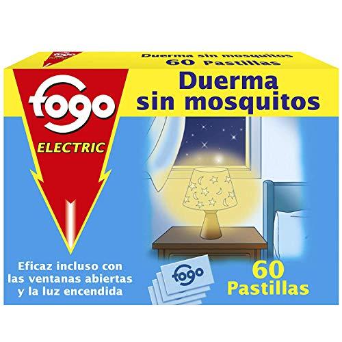 Fogo AntiMosquitos Recambios para insecticida eléctrico mata mosquitos - 60 pastillas