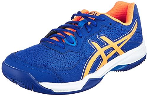 ASICS Gel-Padel Pro 4, Zapatillas de Running Hombre, Monaco Blue Orange Pop, 43.5 EU