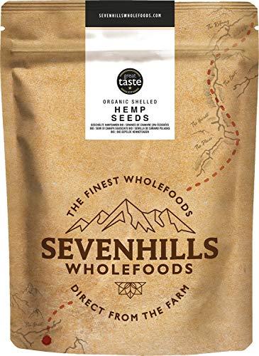Sevenhills Wholefoods Semilla De Cáñamo Peladas Crudas Orgánico 1kg