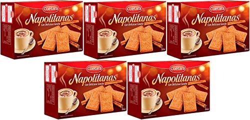 Cuétara Napolitanas 500 gr. - [Pack 5]