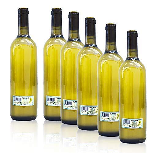 Pack 6 Botellas Vino Turbio Gallego 75 Cl. - Vino Blanco Túrbio Gallego -
