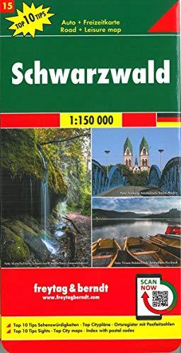 La Selva Negra 1: 150.000: GDR 15 (TOP 10)